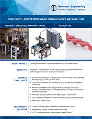 Belt Testing Gang Dynamometer Machine - (Special Purpose Machine)