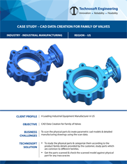 CAD Data Creation for Family of Valves