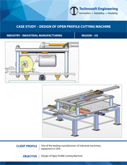 Design of Open Profile Cutting Machine