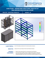 Design and Structural Analysis of Non Ground Resistor Enclosure
