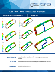 Mold Flow Analysis of Chrome