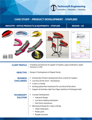 Product Development Staplers