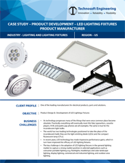 Product Development – LED Lighting Fixtures product manufacturer