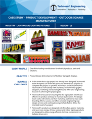 Product Development – Outdoor Signage Manufacturer 2