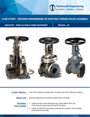 Reverse Engineering of Existing Forged Valve Assembly