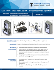 Sheet Metal Design Printing Machine