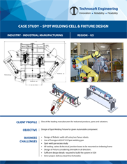 Spot welding cell & Fixture Design