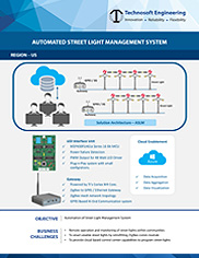 Automated Street Light Management System