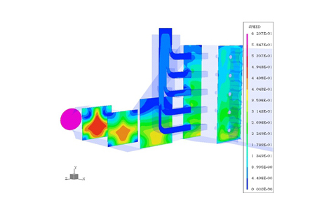 Flow Analysis For Hrsg Ducting