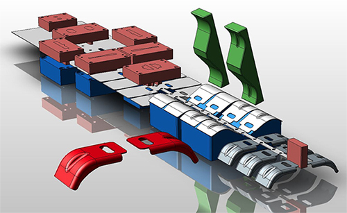 Designing & Tooling die casting products