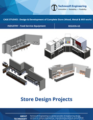 Design & Development of Complete Store (Wood, Metal & Mill work)